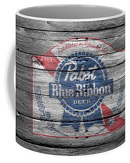 Pabst Blue Ribbon Beer Coffee Mug