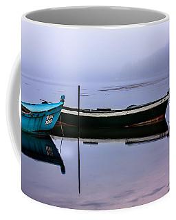 Pacheco Blue Boat Coffee Mug