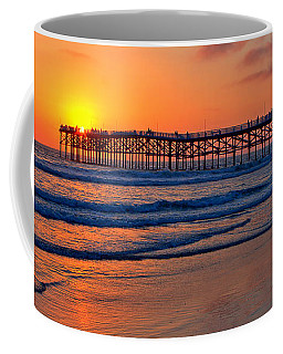 Pacific Beach Pier - Ex Lrg - Widescreen Coffee Mug