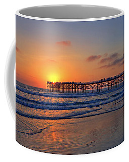 Pacific Beach Pier Sunset Coffee Mug