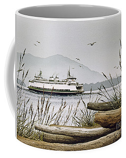 Pacific Northwest Ferry Coffee Mug