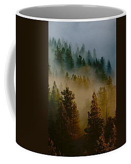 Pacific Northwest Morning Mist Coffee Mug