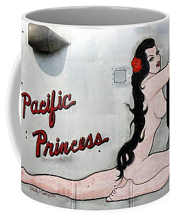 Coffee Mug featuring the photograph Pacific Princess by Kathy Barney