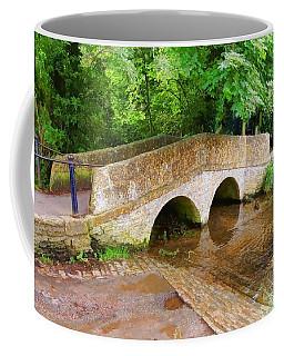 Coffee Mug featuring the digital art Pack Horse Bridge by Paul Gulliver