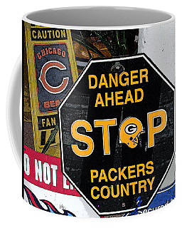 Packers Country Coffee Mug by Kay Novy