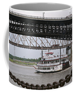 Coffee Mug featuring the photograph Paddlewheeler by Jane Eleanor Nicholas