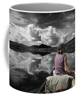 Paddling Attean Pond Coffee Mug