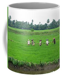 Paddy Field Workers Coffee Mug