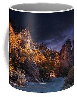 Coffee Mug featuring the photograph Pahrump - Road To Wheeler Peak by Gunter Nezhoda