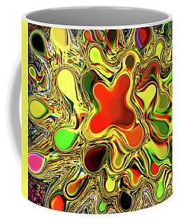 Paint Ball Color Explosion Coffee Mug
