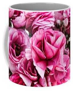 Paint Me Pink Ranunculus Flowers By Diana Sainz Coffee Mug