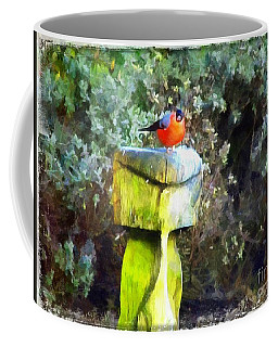Painted Bullfinch S2 Coffee Mug