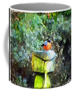 Painted Bullfinch S1 Coffee Mug
