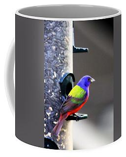 Painted Bunting - Img 9757-002 Coffee Mug