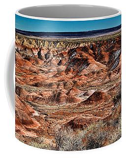 Painted Desert In Winter Coffee Mug