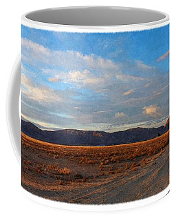 Painted Golden Sunset Coffee Mug by Glenn McCarthy Art and Photography