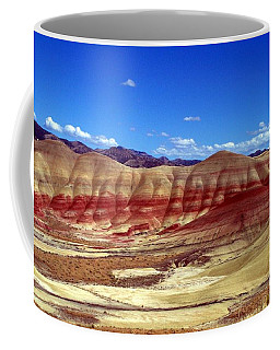 Coffee Mug featuring the photograph Painted Hills by Chalet Roome-Rigdon