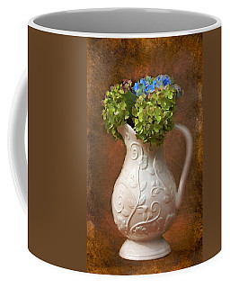 Painted Hydrangeas Coffee Mug by Trina  Ansel