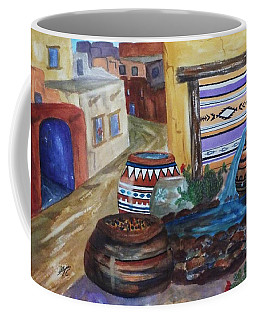 Painted Pots And Chili Peppers II  Coffee Mug
