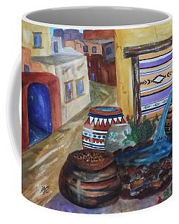 Painted Pots And Chili Peppers II  Coffee Mug
