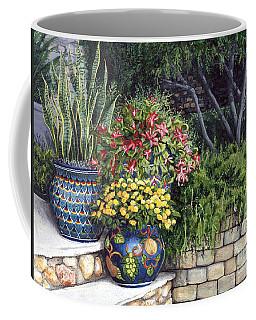 Painted Pots Coffee Mug