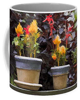 Painted Pots Coffee Mug by Michael Flood