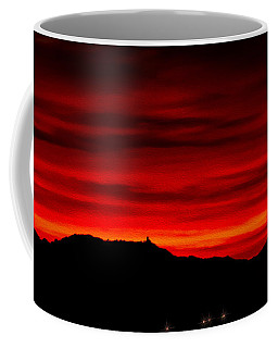 Coffee Mug featuring the photograph Painted Sky 36 by Mark Myhaver