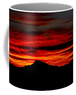 Coffee Mug featuring the photograph Painted Sky 45 by Mark Myhaver