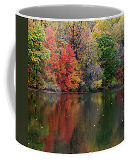 Coffee Mug featuring the photograph Painted Water by Richard Bryce and Family