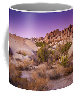 Coffee Mug featuring the photograph Painterly Desert by Susan Leonard