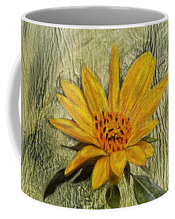 Painterly Sunflower Coffee Mug