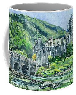 Eilean Donan Medieval Castle Scotland Coffee Mug by Carol Wisniewski