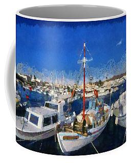 Aegina Port Coffee Mug
