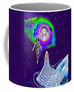 Painting Of The Rapture Of The Church Coffee Mug