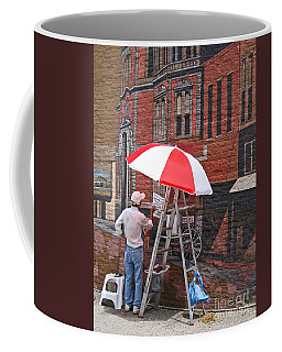 Painting The Past Coffee Mug by Ann Horn