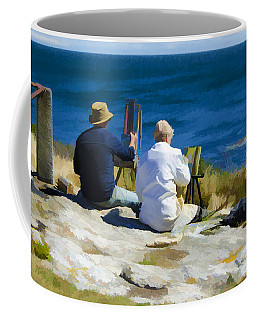 Painting The View Coffee Mug