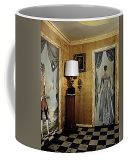 Paintings On The Walls Of Tony Duquette's House Coffee Mug