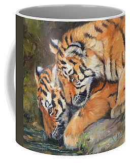 Pair Of Tiger Cubs Coffee Mug