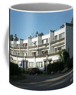 Paivola Building In Sunila Coffee Mug