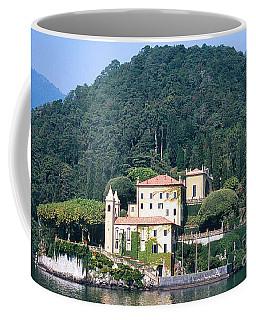 Palace At Lake Como Italy Coffee Mug