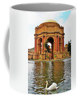 Palace Of Fine Arts Swan San Francisco Coffee Mug