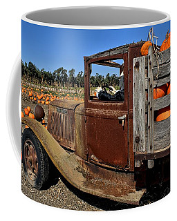 Coffee Mug featuring the photograph Pale Rider by Michael Gordon