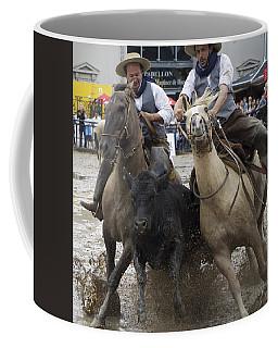 Paleteada With Criollo Horses Coffee Mug by Venetia Featherstone-Witty