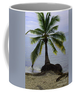 Palm At The Edge Of The Sea Number Two Coffee Mug