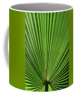 Palm Fan Design Coffee Mug