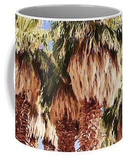 Coffee Mug featuring the painting Palm by Muhie Kanawati