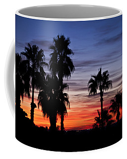 Palm Shadows Coffee Mug