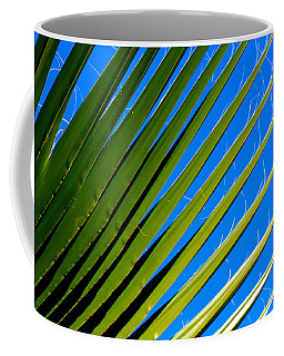 Coffee Mug featuring the photograph Palm Silhouette by Jennifer Muller