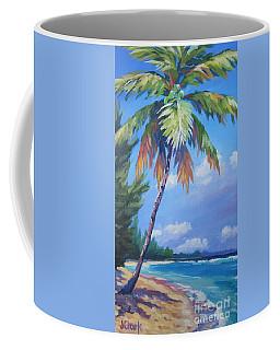 Palm Tree And View East    Coffee Mug