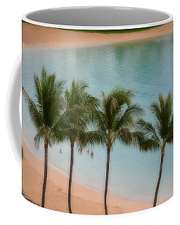 Palm Tree Lagoon Coffee Mug